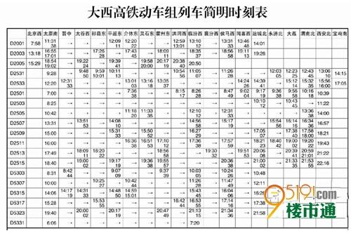 大西高铁7月1前开通 西安到太原最快2小时55分