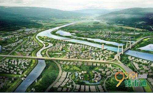 浐灞生态区规划图