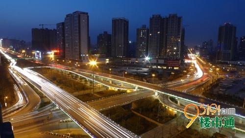 太白路 丈八东路立交工程 周边高压线路将加高平移