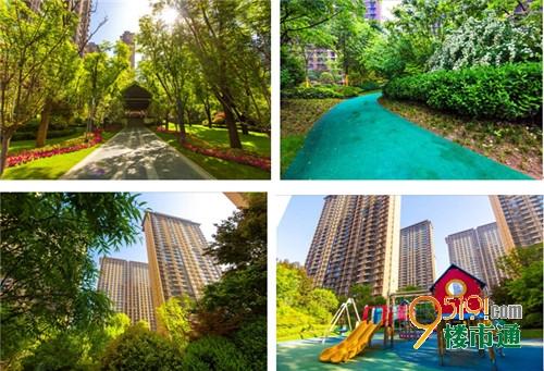 """老年休闲区,亲子游乐区,运动健身区三大主题景观区,尽情享受家楼下的"""""""